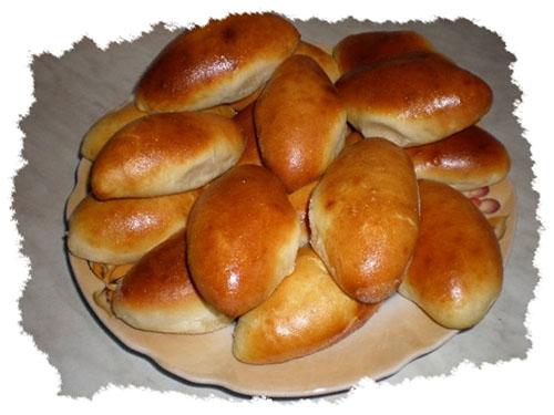 Жареные пирожки с печенью - рецепт пошаговый с фото