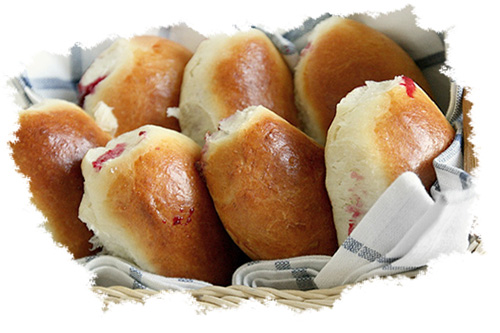 пирожки с повидлом на кефире