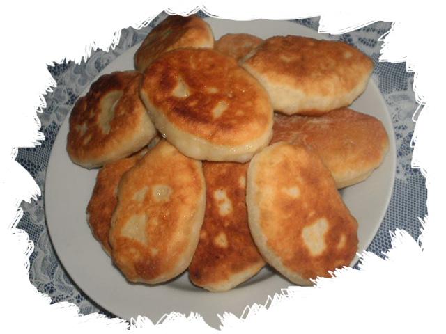 жареные гороховые пирожки