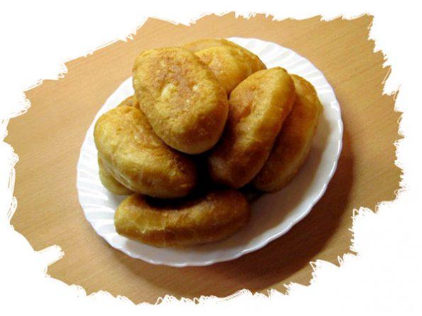 рецепт жареных пирожков с картофелем