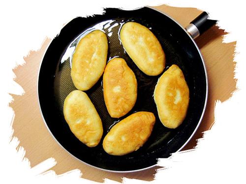 Пирожки с картошкой жареные на сковороде (рецепт с фото)