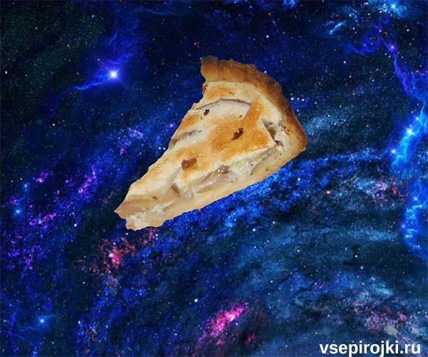 грушевый пирог с сыром фото