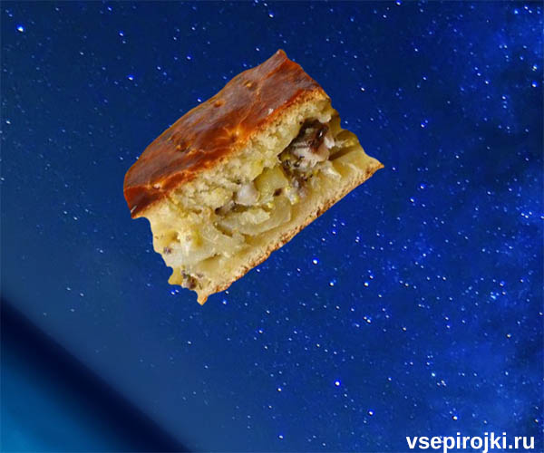 пирог с свежей скумбрией