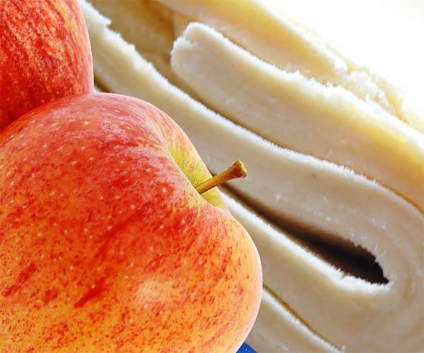 яблоки и слоеное тесто фото