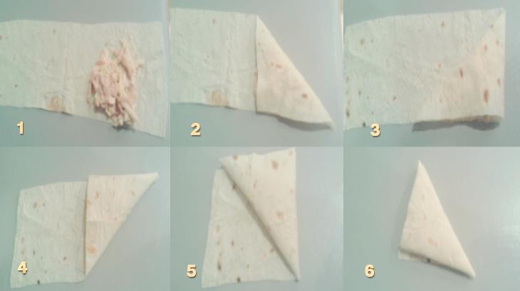 треугольник лаваш фото