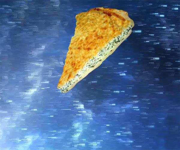пирог со шпинатом из слоеного теста
