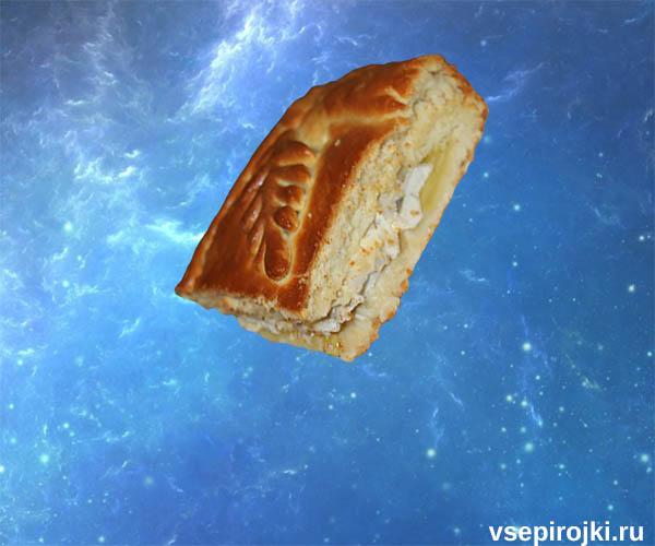 пирог дрожжевой с курицей фото