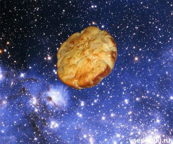 пирог с яблоками сметанный фото