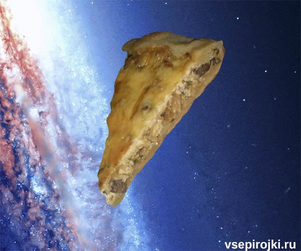 песочный пирог капуста грибы фото