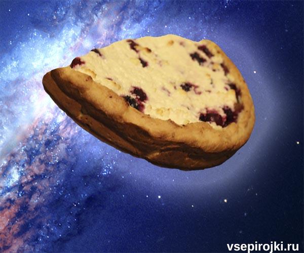 песочный вишневый пирог фото