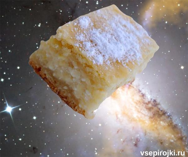 песочный яблочный пирог фото