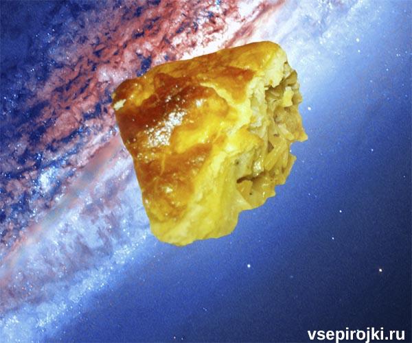 пирог с треской капустой фото