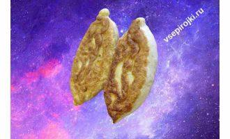 жареные пирожки капуста грибы 1