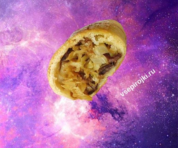 пирожки с капустой и грибами