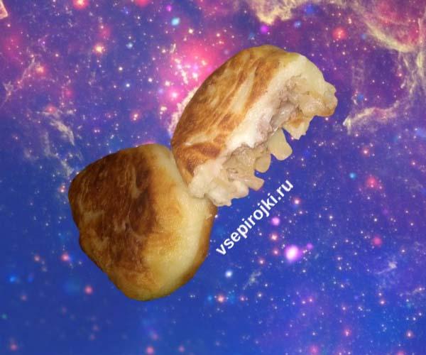 Картофельные зразы с начинкой
