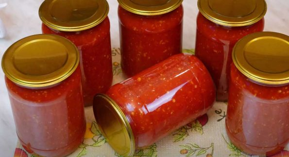 перцы в томате на зиму
