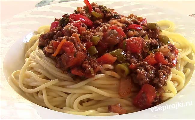 паста болоньезе рецепт классический