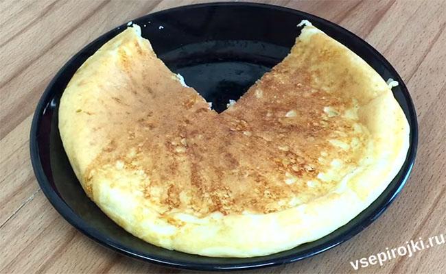 ленивые лепешки с сыром