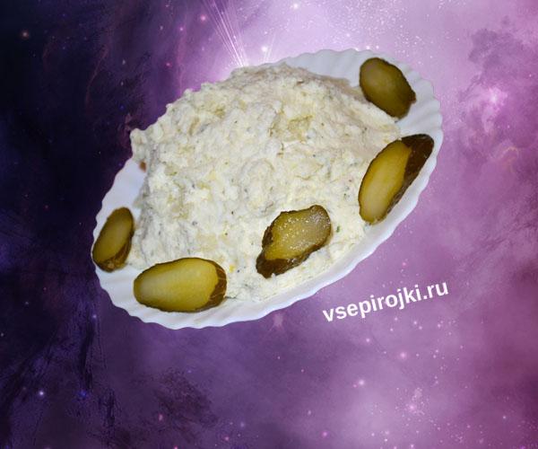 Необычное пюре из картофеля и творога
