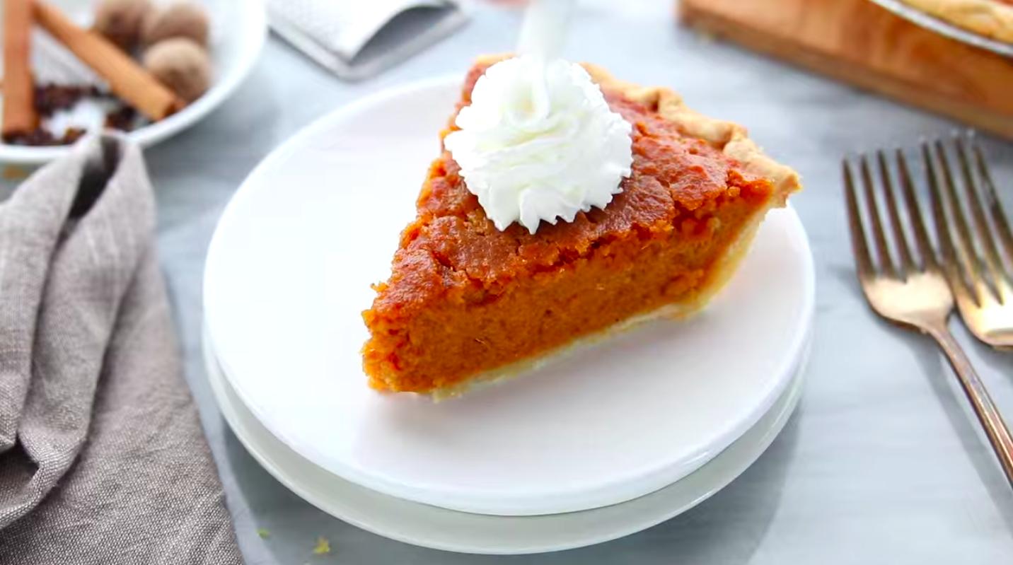 Рецепт сладкого пирога с бататом (сладкий картофель)