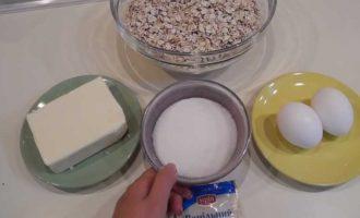 овсяное печенье без муки пошаговый рецепт