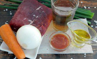 говядина в пиве ингредиенты